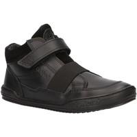 Scarpe Unisex bambino Sneakers alte Kickers 744820-30 JINGLELAST Negro