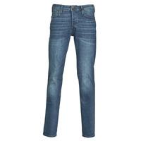 Abbigliamento Uomo Jeans slim Jack & Jones JJITIM Blu / Scuro