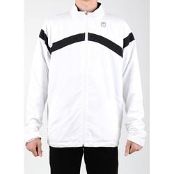 Abbigliamento Uomo Giacche sportive K-Swiss Accomplish WVN JCKT 100627-102 white, black