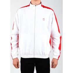 Abbigliamento Uomo Giacche sportive K-Swiss Accomplish Jacket 100250-119 white, red