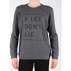Abbigliamento Uomo T-shirts a maniche lunghe Lee Dont Lie Tee LS L65VEQ06 grey