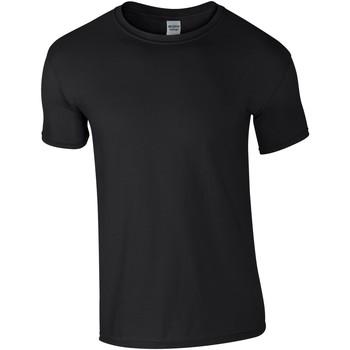 Abbigliamento Uomo T-shirt maniche corte Gildan Soft-Style Nero