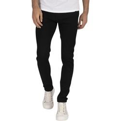 Abbigliamento Uomo Jeans slim Jack & Jones Jeans skinny originali Liam 816 nero