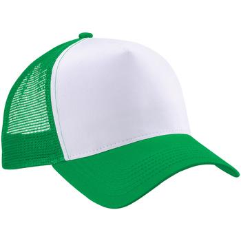 Accessori Cappellini Beechfield B640 Verde/Bianco