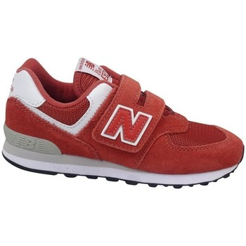 Scarpe Unisex bambino Sneakers basse New Balance YV574EC Rosso