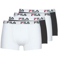 Biancheria Intima  Uomo Boxer Fila Pack de 4 Nero / Bianco