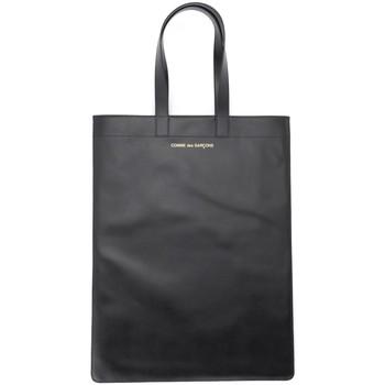 Borse Donna Tote bag / Borsa shopping Comme Des Garcons Borsa Shopping Comme Des Garçons in pelle nera Nero