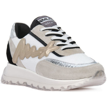 Scarpe Uomo Sneakers basse At Go GO MOON ARGENTO 560 Grigio