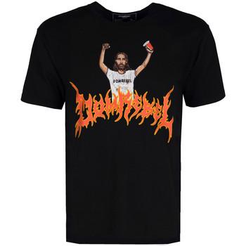 Abbigliamento Uomo T-shirt maniche corte Domrebel  Nero