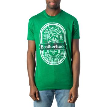 Abbigliamento Uomo T-shirt maniche corte Dsquared S71GD0577 Verde