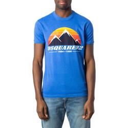 Abbigliamento Uomo T-shirt maniche corte Dsquared S74GD0291 Blu