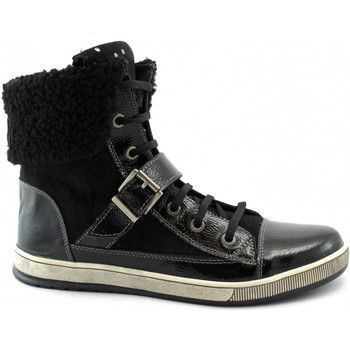 Scarpe Donna Sneakers alte Miss Sixty MIS-OUT-M402-NE Nero
