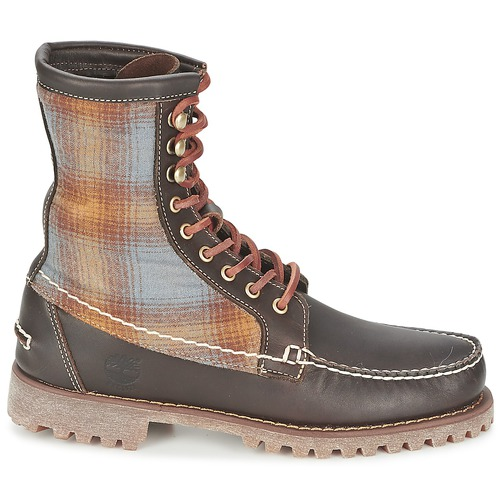 Feltro 8 Rugged Stivaletti MarroneScuro Authentics Timberland Boot In Handsewn l F N8n0vmOwy