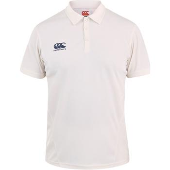 Abbigliamento Unisex bambino Polo maniche corte Canterbury CN155B Crema