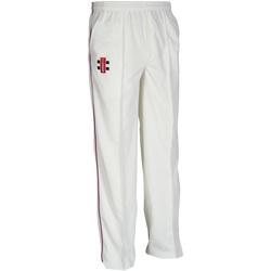 Abbigliamento Unisex bambino Pantaloni da tuta Gray-Nicolls  Avorio/Bordeaux