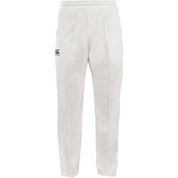 Abbigliamento Unisex bambino Pantaloni da tuta Canterbury CN156B Crema