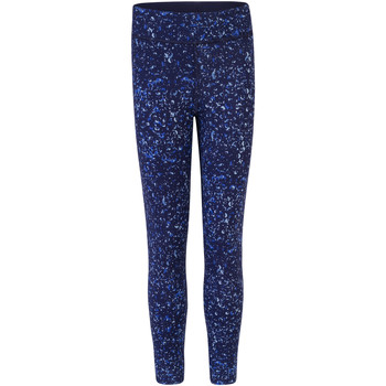 Abbigliamento Bambina Leggings Skinni Fit SM424 Blu navy/Bolle