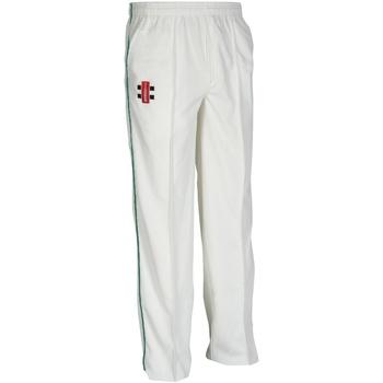 Abbigliamento Unisex bambino Pantaloni da tuta Gray-Nicolls  Avorio/Bottiglia