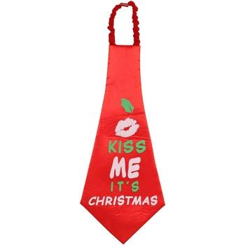 Abbigliamento Cravatte e accessori Christmas Shop CS252 Rosso