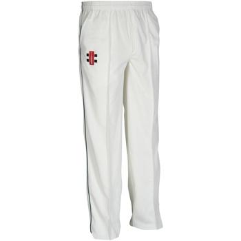 Abbigliamento Unisex bambino Pantaloni da tuta Gray-Nicolls GN10J Avorio/Blu