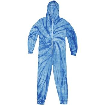 Abbigliamento Uomo Tuta jumpsuit / Salopette Colortone TD35M Blu