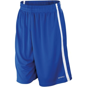 Abbigliamento Uomo Shorts / Bermuda Spiro S279M Blu Reale/Bianco
