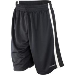 Abbigliamento Uomo Shorts / Bermuda Spiro S279M Nero/Bianco
