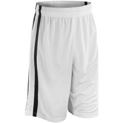 Abbigliamento Uomo Shorts / Bermuda Spiro S279M Bianco/Nero
