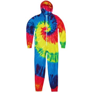 Abbigliamento Uomo Tuta jumpsuit / Salopette Colortone TD36M Arcobaleno