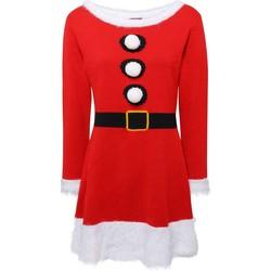 Abbigliamento Donna Abiti corti Christmas Shop CS039 Rosso