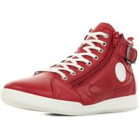 Scarpe Donna Sneakers alte Pataugas Palme F2E Rosso