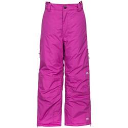 Abbigliamento Unisex bambino Pantalone Cargo Trespass  Viola