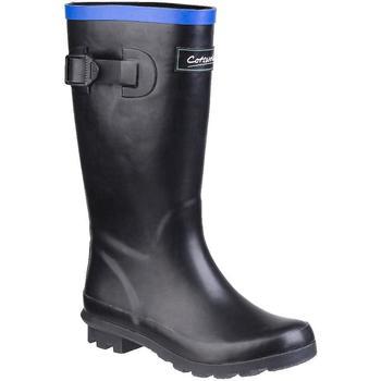 Scarpe Unisex bambino Stivali da pioggia Cotswold  Nero