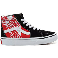 Scarpe Bambino Sneakers alte Vans UY SK8 HI VN0A4BUW V3T Nero