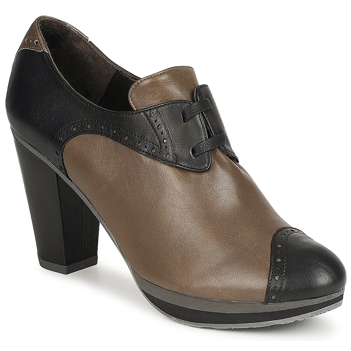 Audley GETA LACE Marrone