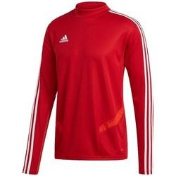 Abbigliamento Uomo T-shirts a maniche lunghe adidas Originals Tiro 19 Training Top Rosso