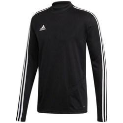 Abbigliamento Uomo T-shirts a maniche lunghe adidas Originals Tiro 19 Training Top Nero