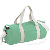 Borse Borse da viaggio Bagbase BG140 Verde Menta/Bianco naturale