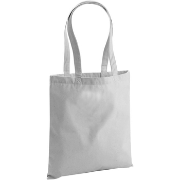 Borse Tote bag / Borsa shopping Westford Mill W801 Grigio chiaro