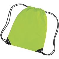 Borse Unisex bambino Borse da sport Bagbase BG10 Verde lime