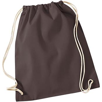 Borse Unisex bambino Borse da sport Westford Mill W110 Cioccolato