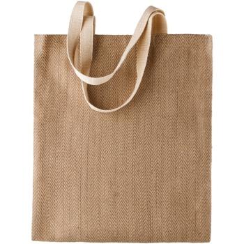 Borse Donna Tote bag / Borsa shopping Kimood  Naturale/Cappuccino