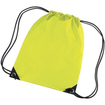 Borse Unisex bambino Borse da sport Bagbase BG10 Giallo fluorescente