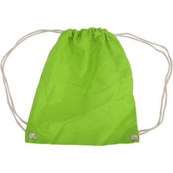 Borse Unisex bambino Borse da sport Westford Mill W110 Verde lime