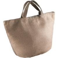 Borse Donna Tote bag / Borsa shopping Kimood KI008 Naturale/Cappuccino