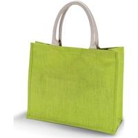 Borse Donna Tote bag / Borsa shopping Kimood KI011 Verde lime