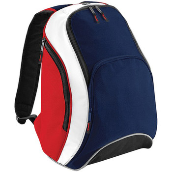 Borse Zaini Bagbase BG571 Blu navy/Rosso/Bianco