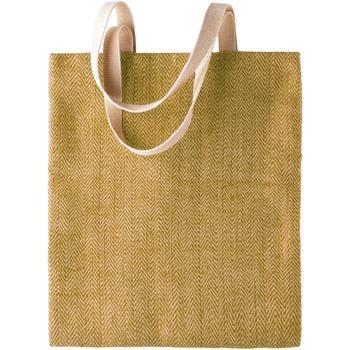 Borse Donna Tote bag / Borsa shopping Kimood KI009 Naturale/Militare