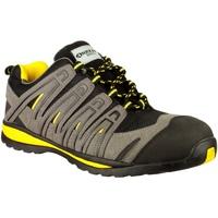 Scarpe Uomo Sneakers basse Amblers 42C S1P HRO Nero/Grigio/Giallo