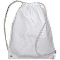 Borse Unisex bambino Borse da sport Bags By Jassz 60257 Bianco